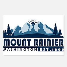 Mount Rainier - Washingto Postcards (Package of 8)