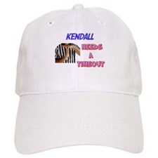 Kendall Needs a Time-Out Baseball Cap