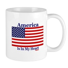 America - Heart Mug