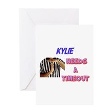 Kylie Needs a Time-Out Greeting Card