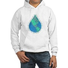 Water Drop Earth Hoodie