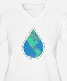 Water Drop Earth T-Shirt