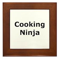 Cooking Ninja Framed Tile