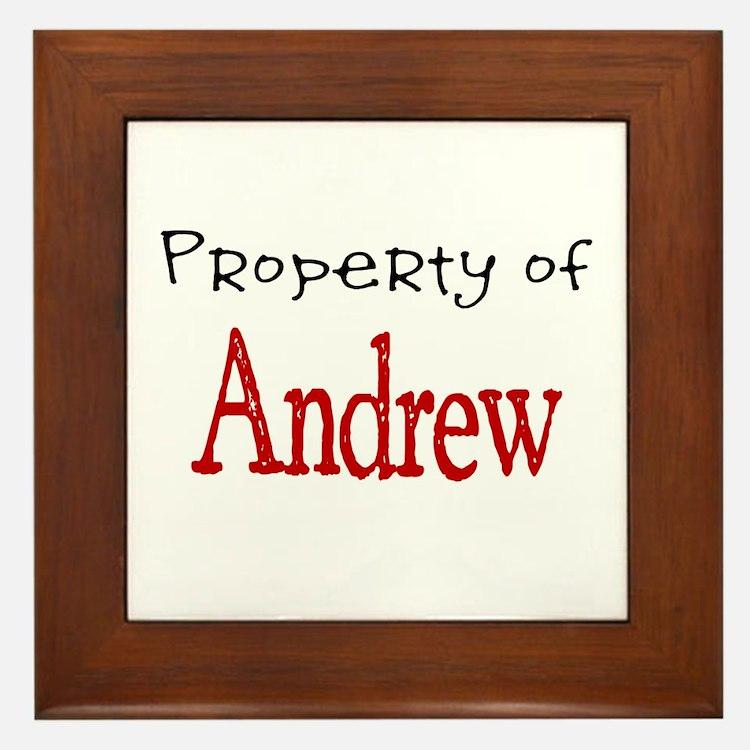 Andrew Framed Tile