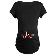 Little Joker red & white text T-Shirt