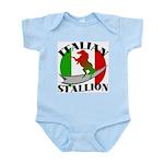 Italian Stallion Infant Creeper