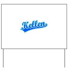 Retro Kellen (Blue) Yard Sign