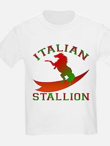 Italian Stallion Kids T-Shirt