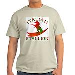 Italian Stallion Ash Grey T-Shirt