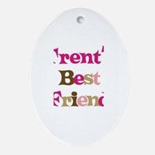 Trent's Best Friend Oval Ornament