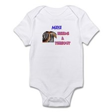 Maya Needs a Time-Out Infant Bodysuit