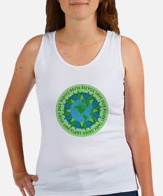 Earth Day Slogans Women's Tank Top