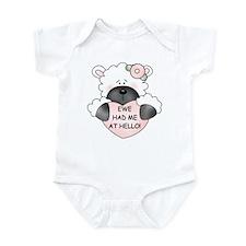 EWE HAD ME AT HELLO Infant Bodysuit