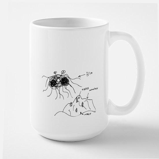 Original Drawing - Large Mug