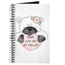 EWE HAD ME AT HELLO Journal