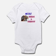 Nicole Needs a Time-Out Infant Bodysuit