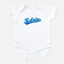Retro Kelvin (Blue) Infant Bodysuit
