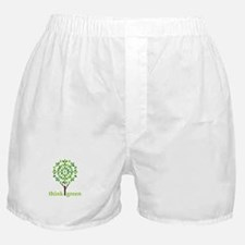 Think Green Boxer Shorts