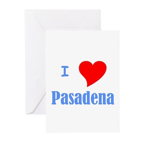 I Love Pasadena Greeting Cards (Pk of 20)