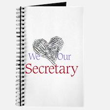 We Love Our Secretary Journal