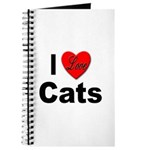 I Love Cats for Cat Lovers Journal