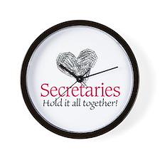 Secretaries Wall Clock