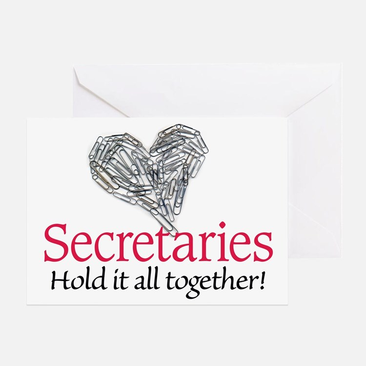 Secretaries Greeting Card