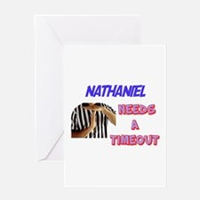 Nathaniel Needs a Timeout Greeting Card