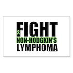 Fight Non-Hodgkin's Rectangle Sticker 10 pk)