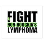 Fight Non-Hodgkin's Small Poster