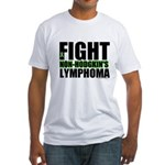 Fight Non-Hodgkin's Fitted T-Shirt