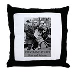 Cleveland PD S.O.P. Throw Pillow