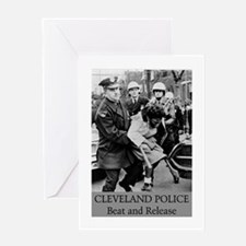 Cleveland PD S.O.P. Greeting Card