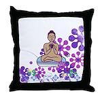 Java Buddha Throw Pillow