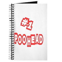 #1 Poo Head Journal