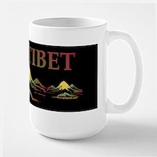 FREE TIBET Large Mug