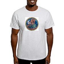 Hercules Ash Grey T-Shirt