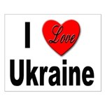 I Love Ukraine Small Poster