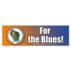 Bluebird Bumper Sticker (50 pk)