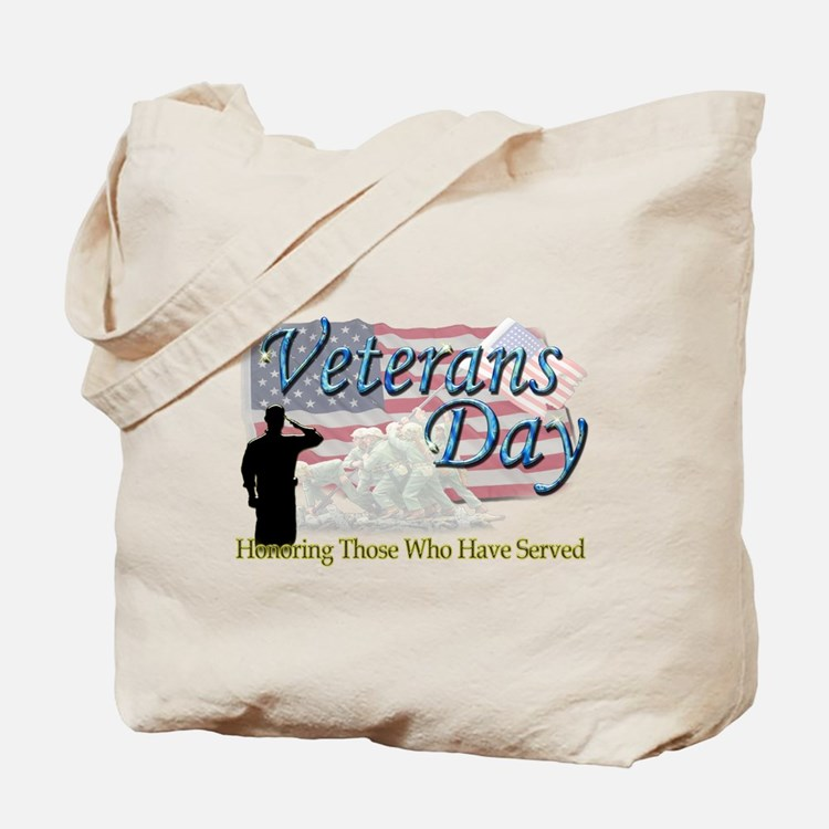 Veterans Day Tote Bag