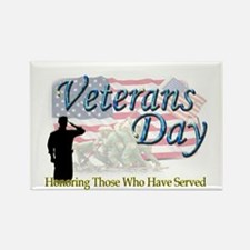 Veterans Day Rectangle Magnet