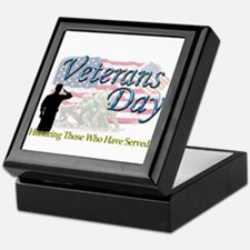 Veterans Day Keepsake Box