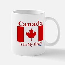 Canada Heart Mug