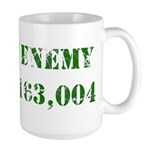 Not a Public Enemy Large Mug