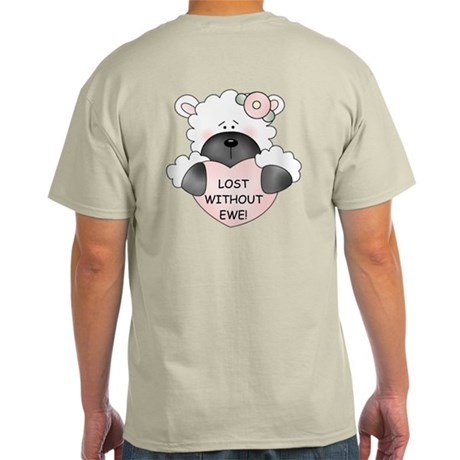 LOST WITHOUT EWE! Light T-Shirt
