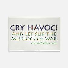Murlocs of War Rectangle Magnet