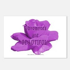 Fibromytes are beautiful Postcards (Package of 8)
