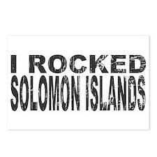 I Rocked Solomon Islands Postcards (Package of 8)