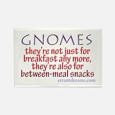 Gnomes for Breakfast Rectangle Magnet