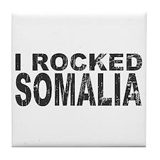 I Rocked Somalia Tile Coaster